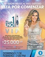 GRAN inicio del NUMERO VIP Febrero 2016 por canal 2 el salvador
