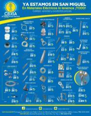 SAN MIGUEL productos y soluciones en materiales electricos