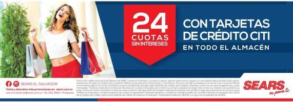 CITI bank credit card promociones SEARS stores