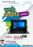 CUPON WEB deals de la curacao LAPTOP HP por 299 dolares