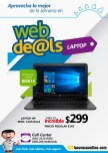 CUPON WEB deals de la curacao LAPTOP HP por 299 dolares