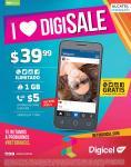 DIGICEL Alcatel PIXI por solo 39 dolares con 99 centavos