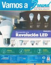 FREUND el salvador promociones el lamparas LED revolucion philips