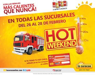 HOT Friday 2016 de la curacao el salvador - Febrero 2016