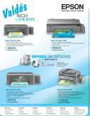 Impresoras sin cartuchos marca EPSON