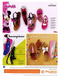 KIDS shoes colllections by PAYLESS el salvador - Febrero 2016