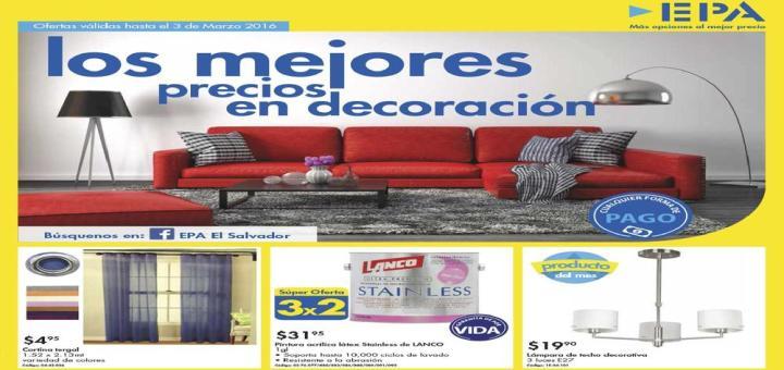 Ofertas Ferreteria EPA catalogo decoracion hogar bricolaje
