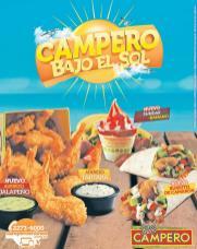 POLLO CAMPERO Nuevos combos y postres de verano 2016