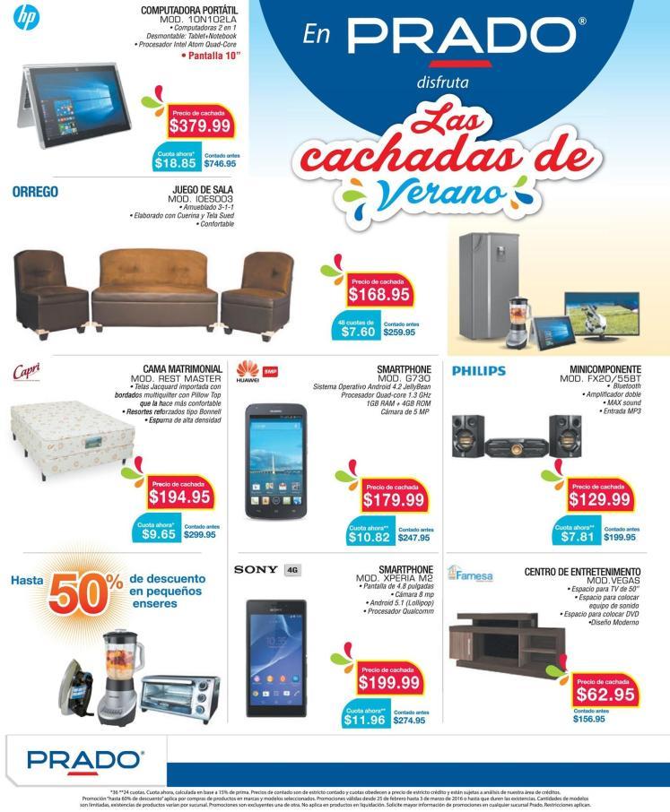 PRADO almacenes presenta Las Cachadas de verano 2016