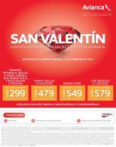 Promociones de san valentin 2016 para viajar en avianca