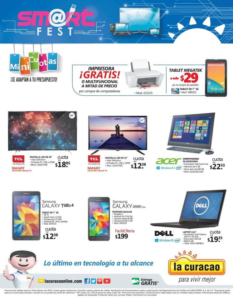 SMART fest para renovar tu compu laptop y celular en la curacao - 12feb16