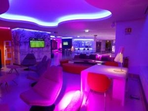 decoracion de hoteles con luces led