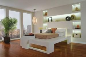 dormitorio remodelados con iluminacion LED color