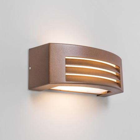 iluminacion LED oxido cobre arquitectura moderna