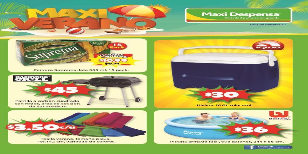 maxi verano 2016 productos en oferta