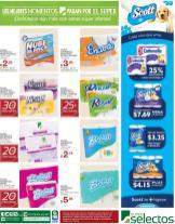 papel higienico barato ahora en super selectos - 15feb16
