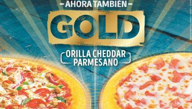 Ahora MARTES pizza hut 2x1 promocion GOLD orilla cheddar parmesano