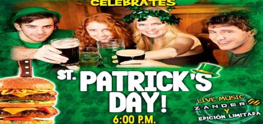 FRIDAY celebrates st patricks day 2016