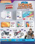 KONG descuentos de fin de semana en tropigas - 04mar16
