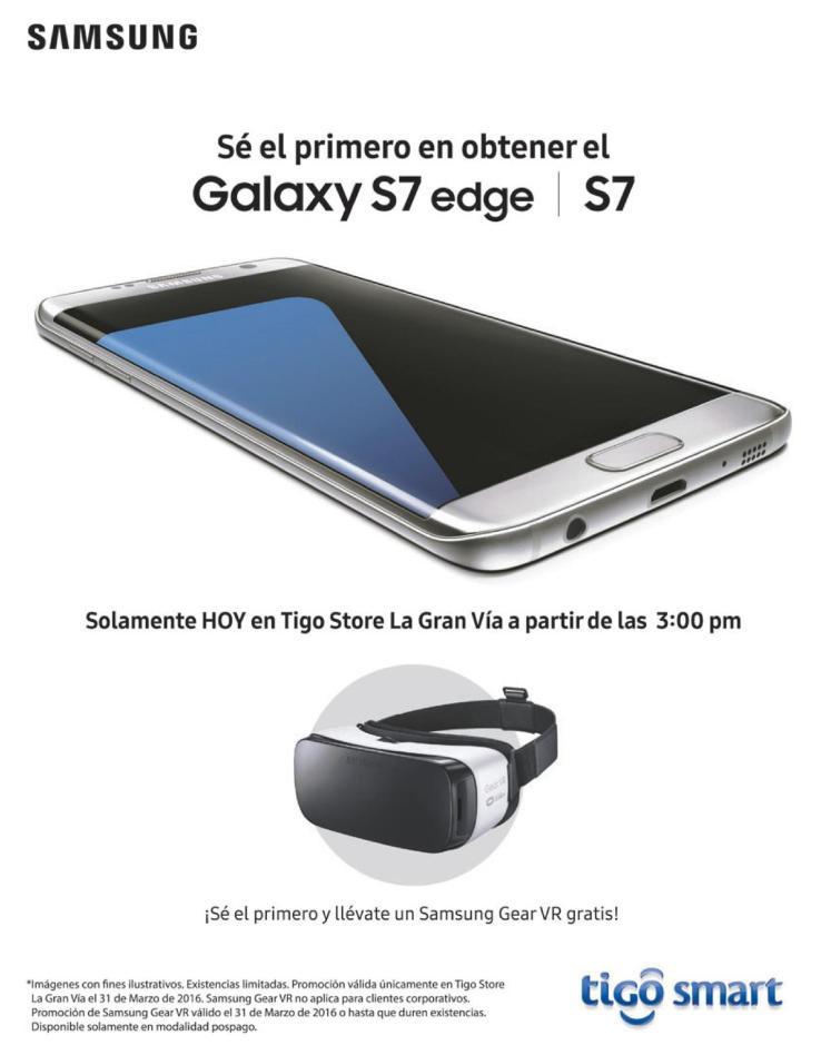 TIGO smart presenta el NUEVO samsung galaxy S7