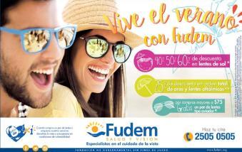 promociones de lentes de sol para semana santa via FUdem
