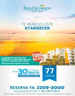 Atardecer en playas de el salvador BEACH resort all inclusive