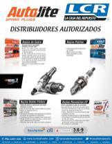 AutoLite spark plugs bujias doble platino