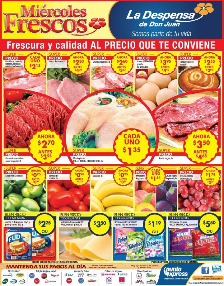 Frescura y calidad LA DEPSENSA de Don juan mira las frutas - 13abr16