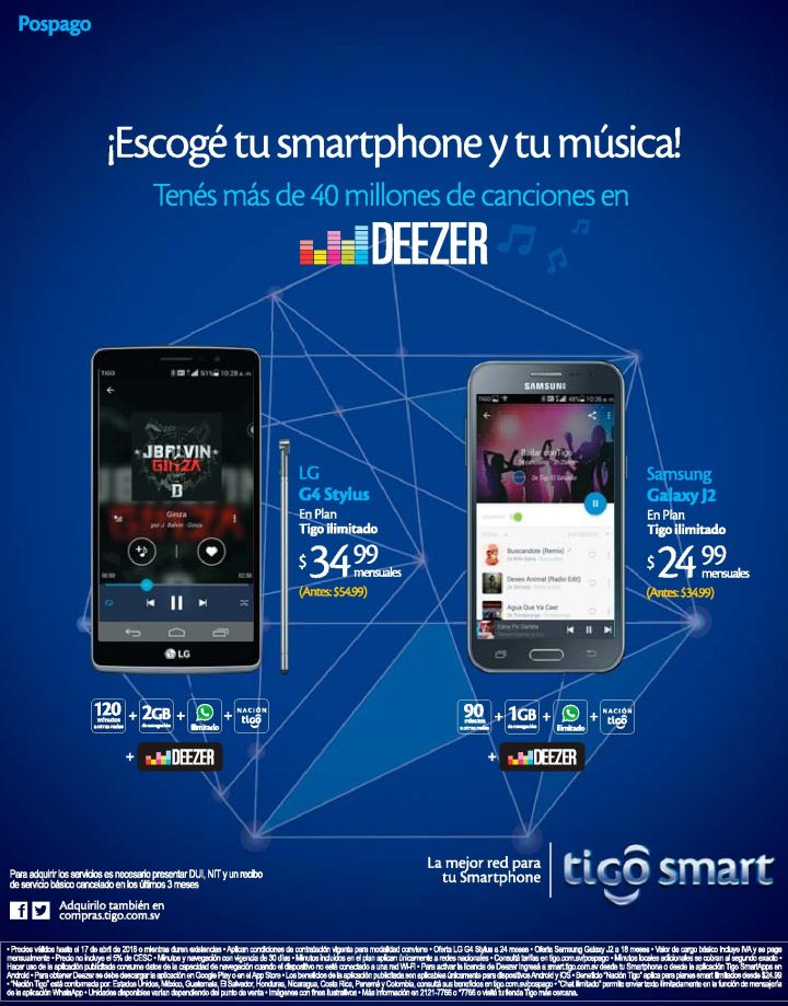 MUSICA streaming ilimeted by DEEZER ap