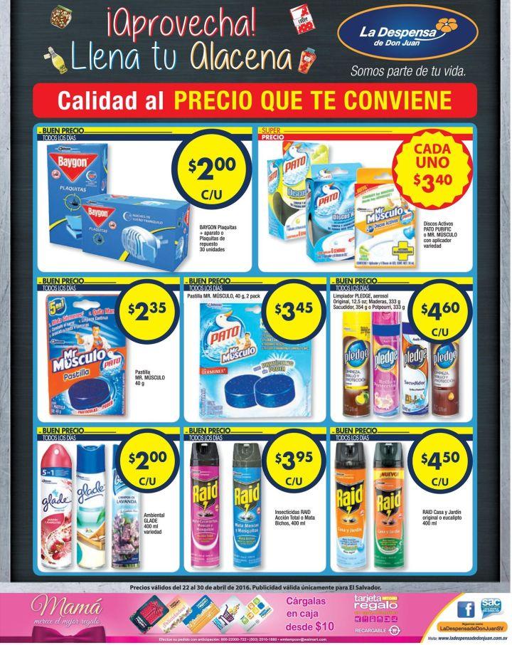 Olores Sanitizadores Insecticidas mucho ahorr La Despensa de Don Juan - 22abr16