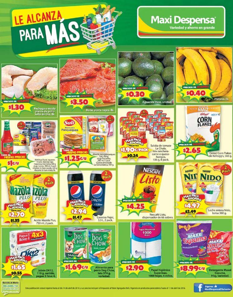 Productos frecos al precio correcto de tu bolsillo