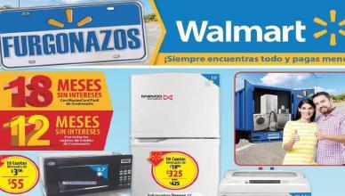 Promociones Walmart FURGONAZOS abril 2016