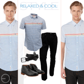REALX and cool outfit for gentlemans by SIMAN fashion