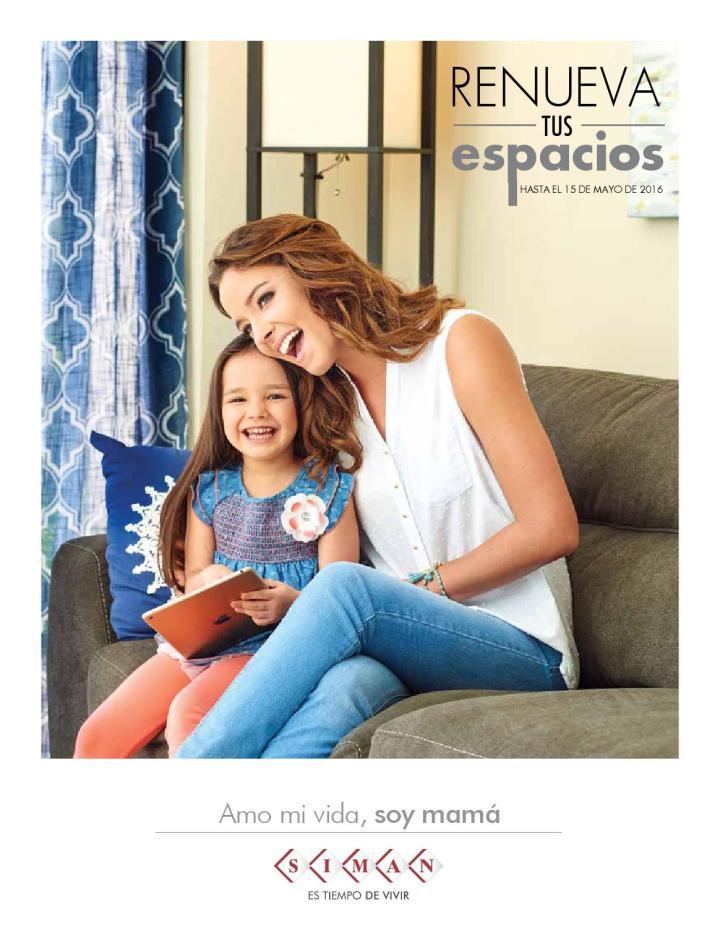 Revista 2016 almacenes SIMAN elsalvador dedicada a la madres