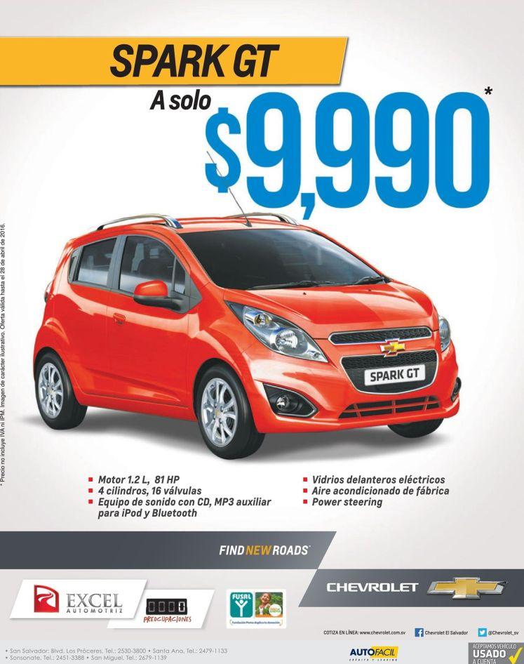 SPARK GT El carro compacto mas ecoomico y barato