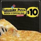 Ya sabes quieres PIZZA cualquiere a solo 10 dolares en dominos