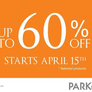 goods deals starts now PARK AVENUE disocunts