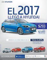 new hashback HYUNDAI i10 2017