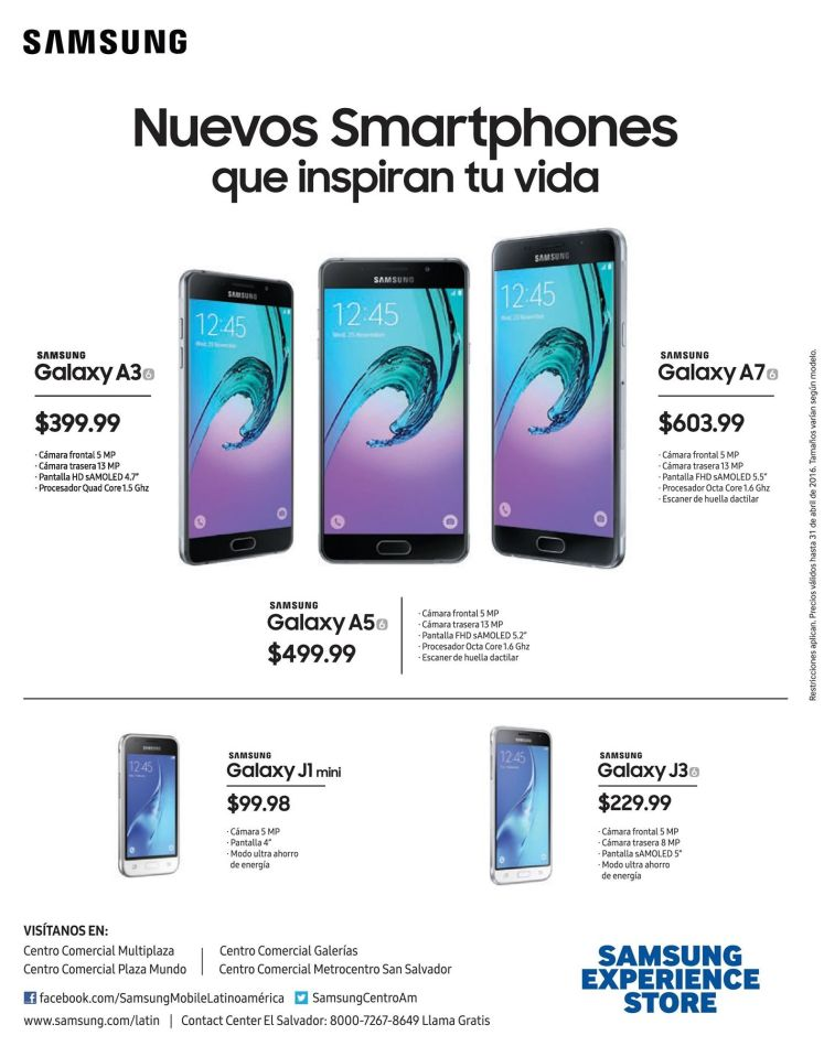 new smartphones SAMSUNG store deals