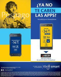 Actualizate con los mejores servicios TIGO smart app music