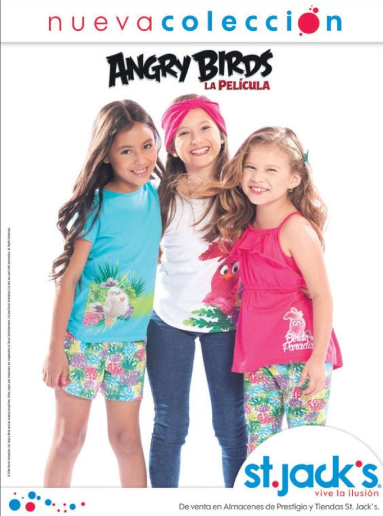 Angry Bird THE MOVIE tshirt collecion for her
