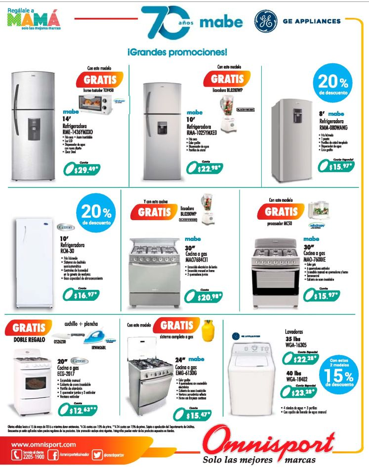 Appliances for MOTHERS DAY