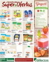 Descuentos de hoy en lacteos Super Selectos - 30may16