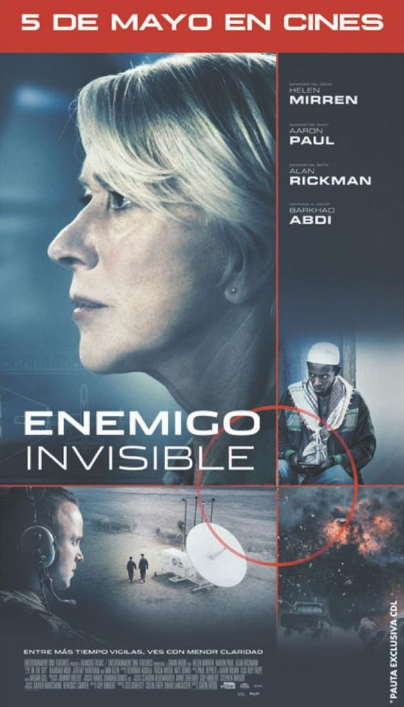 ENEMIGO invisible the movie premier