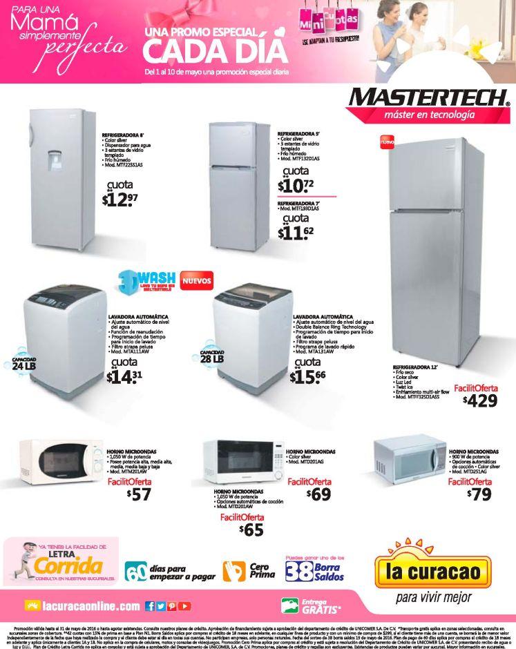 Linea de electrodomesticos MASTERTECH ofertas y promociones