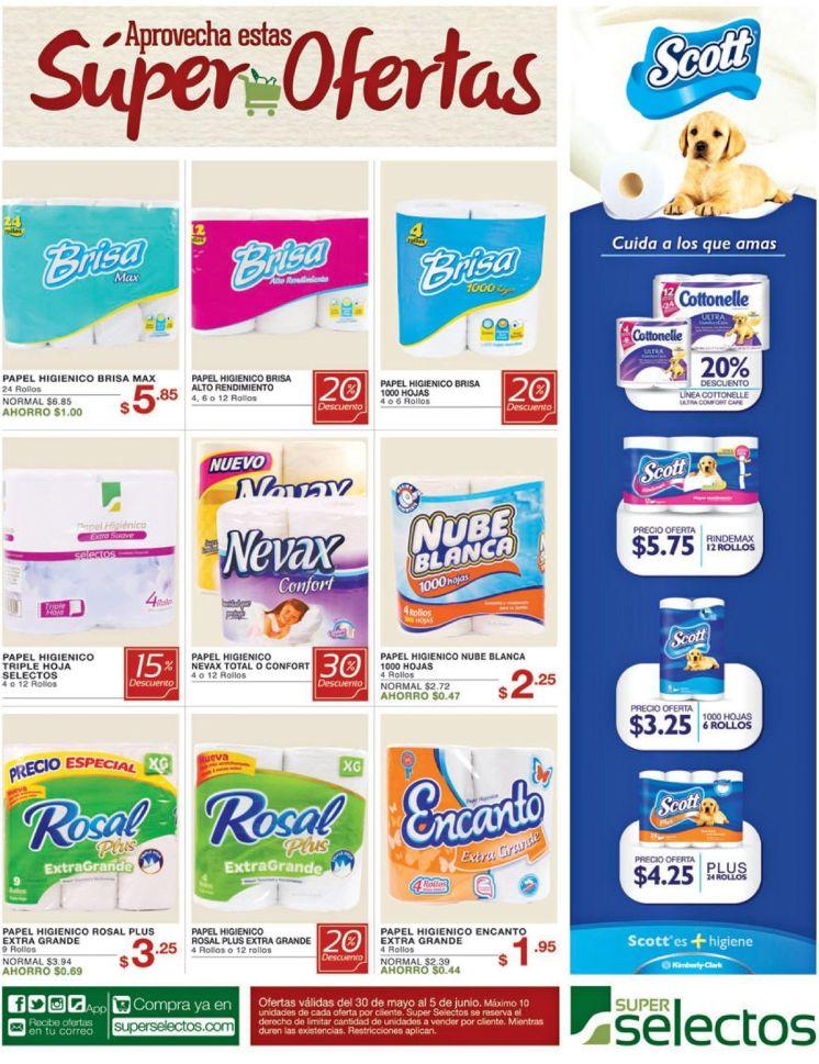 Papel higienco no te puede faltar asi que compralo en oferta