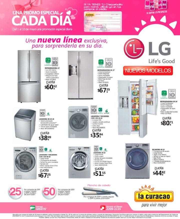 Promociones en electrodomesticos en mes de las madres 2016