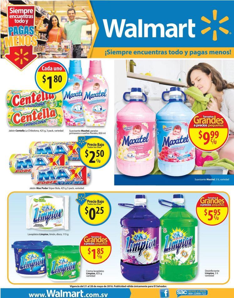 WALMART te dice PAGA menos por tus productos de limpieza - 21may16
