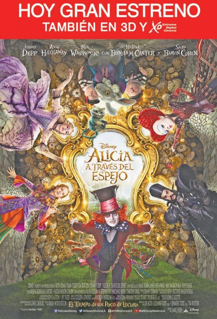 XTREME movie thearter premier ALICIA a traves del espejo