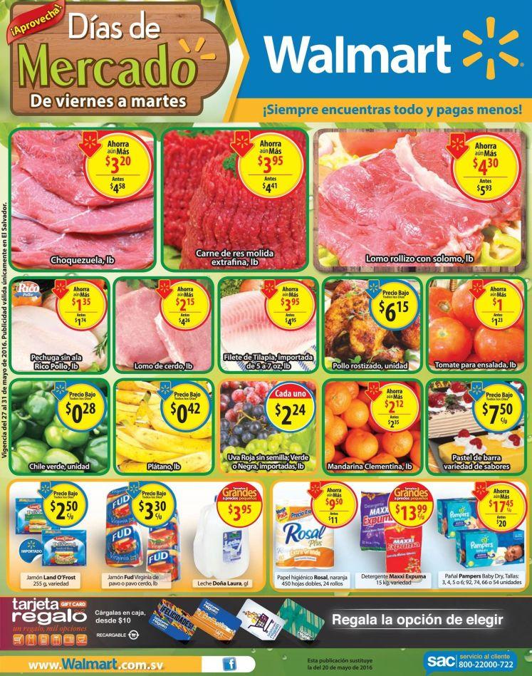 frutas y verduras precios bajos en l mercado walmart - 27may16
